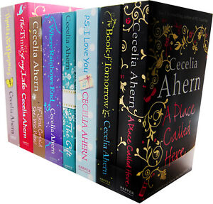 Cecelia Ahern 8 Books Collection Pack Set PS I love You The Gift New