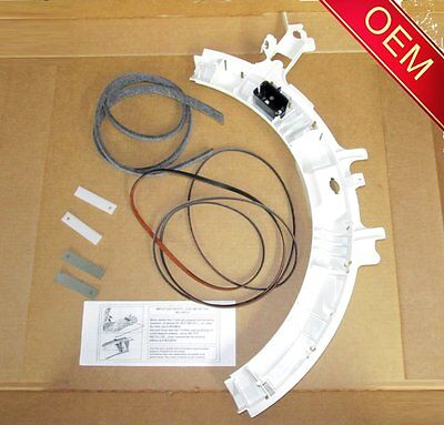 Dryer Bearing Slide - GE Dryer Drum Support Bearing, Belt, Slides, Felt (Check Model Fit List Below)