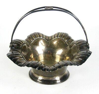 Schale / Korb aus 925er Sterling Silber wohl Portugal Silver Bowl / Basket