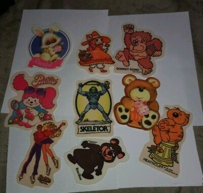 Lot of 9 Vintage 1980s Patches