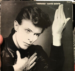 DAVID BOWIE Heroes Rare Japanese pressing