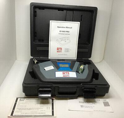 Rti Id1000 Pro Refrigerant Identifier In Case Tested Free Ship