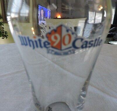 Coca Cola White Castle 90 Anniversity Glass