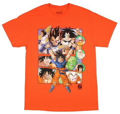 Dragon Ball Z Men's Group 30th Anniversary T-Shirt