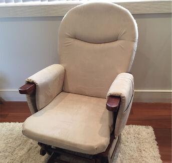 Valco Baby Glider Bliss - Nursing Glider chair & Ottoman