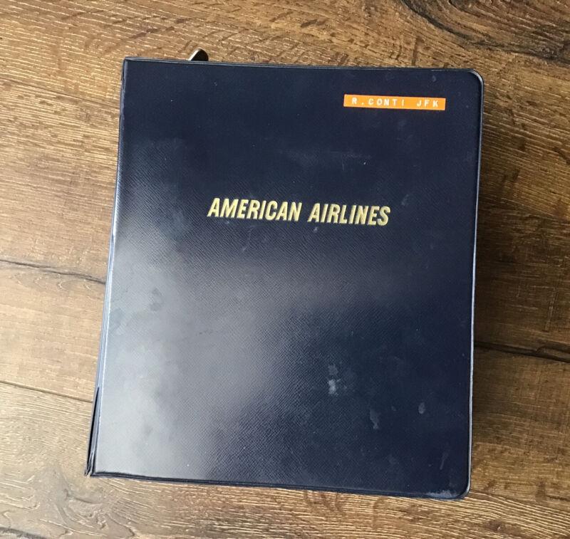 American Airlines Pilot Flight Manual Part 2 Maps Airport Runways 747 DC-10