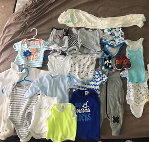 Box of baby boy clothes Forrestdale Armadale Area Preview
