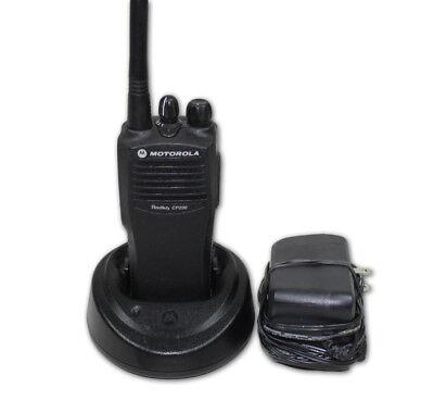 Motorola Cp200 Vhf Radio 4 Channels 146-174 Mhz