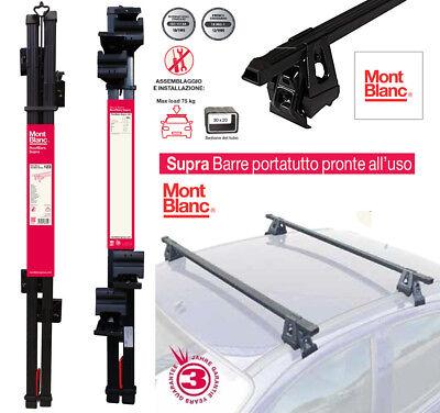 BARRE PORTATUTTO PORTAPACCHI Toyota Aygo II 5p. 2014> PREMONTATE MONTBLANC