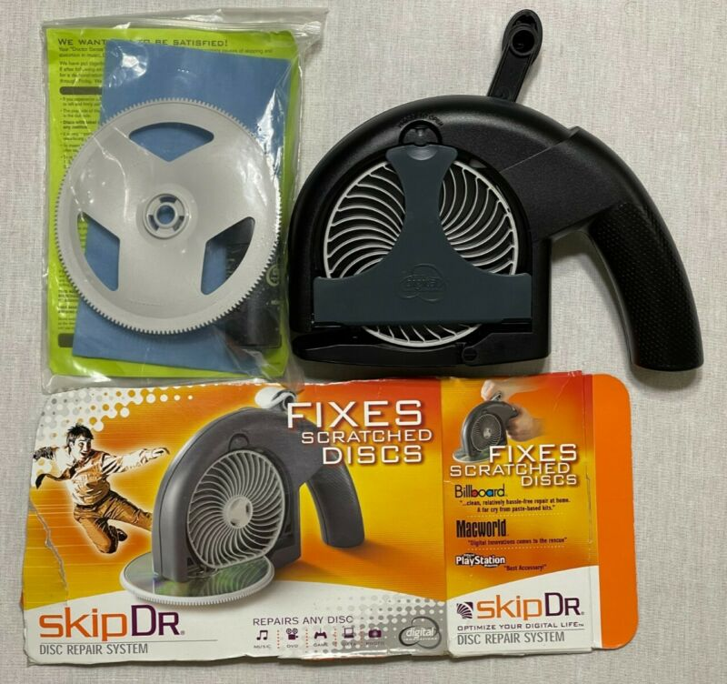 SkipDr Repair System For Scratched Discs Optimize Your Digital Life Open Box