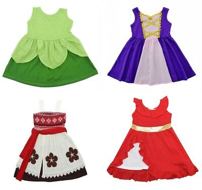 Novelty Fairytale Princess Toddler Girl Sleeveless Dress Up Halloween Costume