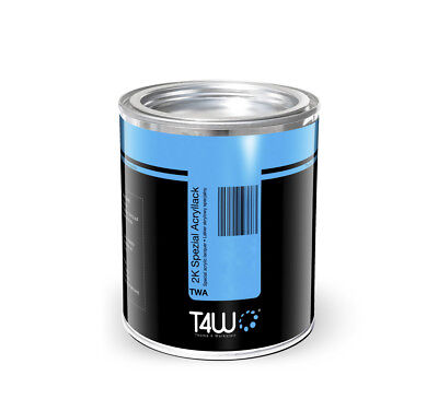 T4W RAL 9001 Acryllack 2:1 1 Liter Autolack Cremeweiss