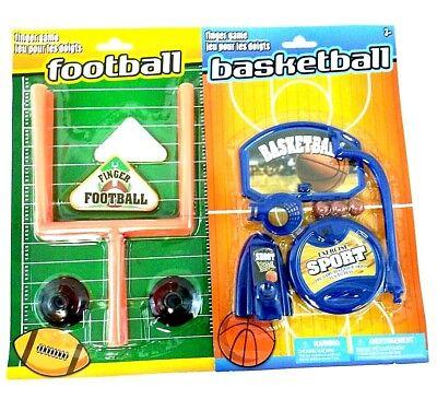 Desk Table Travel Office Toys Desktop Football And Mini Basketball Shooting Game