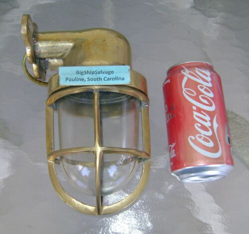 Vintage Cast brass Wall Mounted Nautical Light