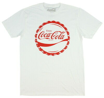 Coca-Cola Shirt Vintage Retro Enjoy Coke Bottle Cap Men's T-Shirt