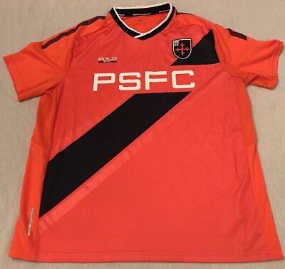 POLO Ralph Lauren PSFC Futbol Soccer Jersey Performance Med Hip-Hop 🔥