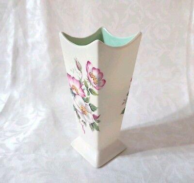 Eastgate Pottery Art Deco Modernist Hand Painted Hornsea Vase 505 VGC RARE