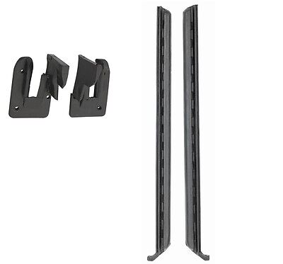 68-72 Chevelle GM A Body UJAMB QUARTER WINDOW WEAHERSTRIP KIT 4 Pieces NEW 72 Chevrolet Chevelle Quarter
