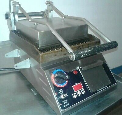 Star Pro-max Cg10it 10 Commercial Grooved Two-sided Panini Press W Timer. 3