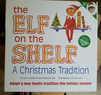 The Elf on the Shelf Christmas Boy Doll Book holiday kids present gifts BOY