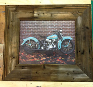 Barn wood picture