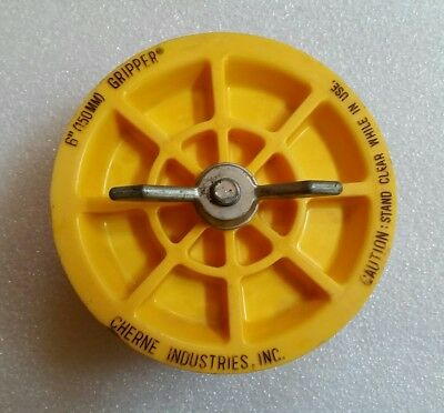 Gripper 6 Plumbing Test Plug - Cherne Industries Commercial Wing Nut Design