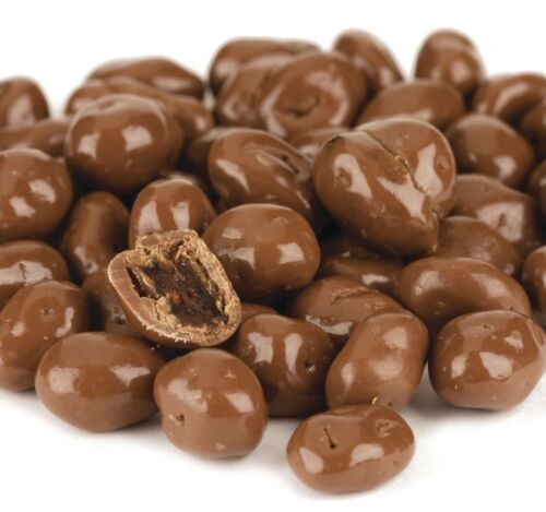 Milk Chocolate Covered Raisins - 5 POUNDS - Fresh & Chewy Candy - SHIPS FREE