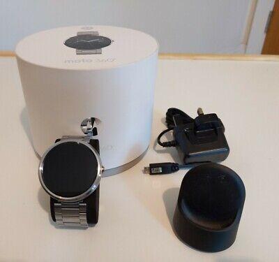 Motorola Moto 360 Stainless Steel Smartwatch
