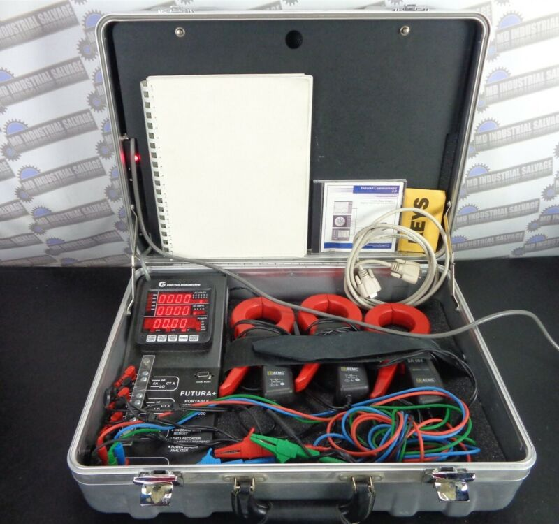Electro Industries FUTURA+ Portable Disturbance Analyzer PDA-1000 with Software
