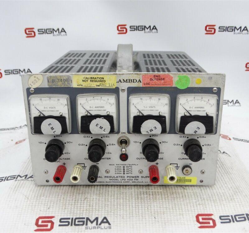 Lambda LPD 422 FM Dual Regulated Power Supply