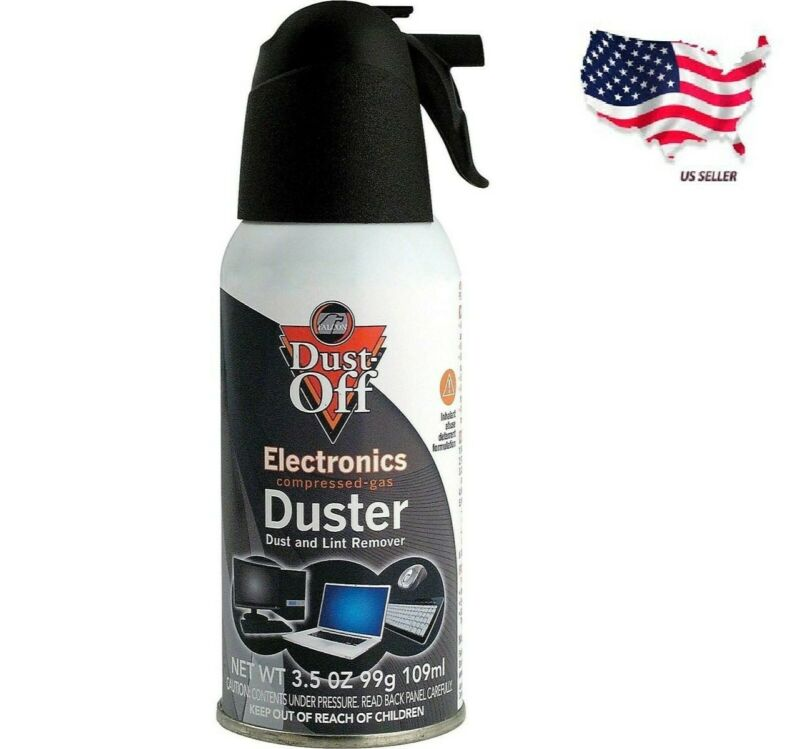 Dust-Off Disposable Air Duster Electronic Falcon Model (DPSJB-12)  Fast Shipping