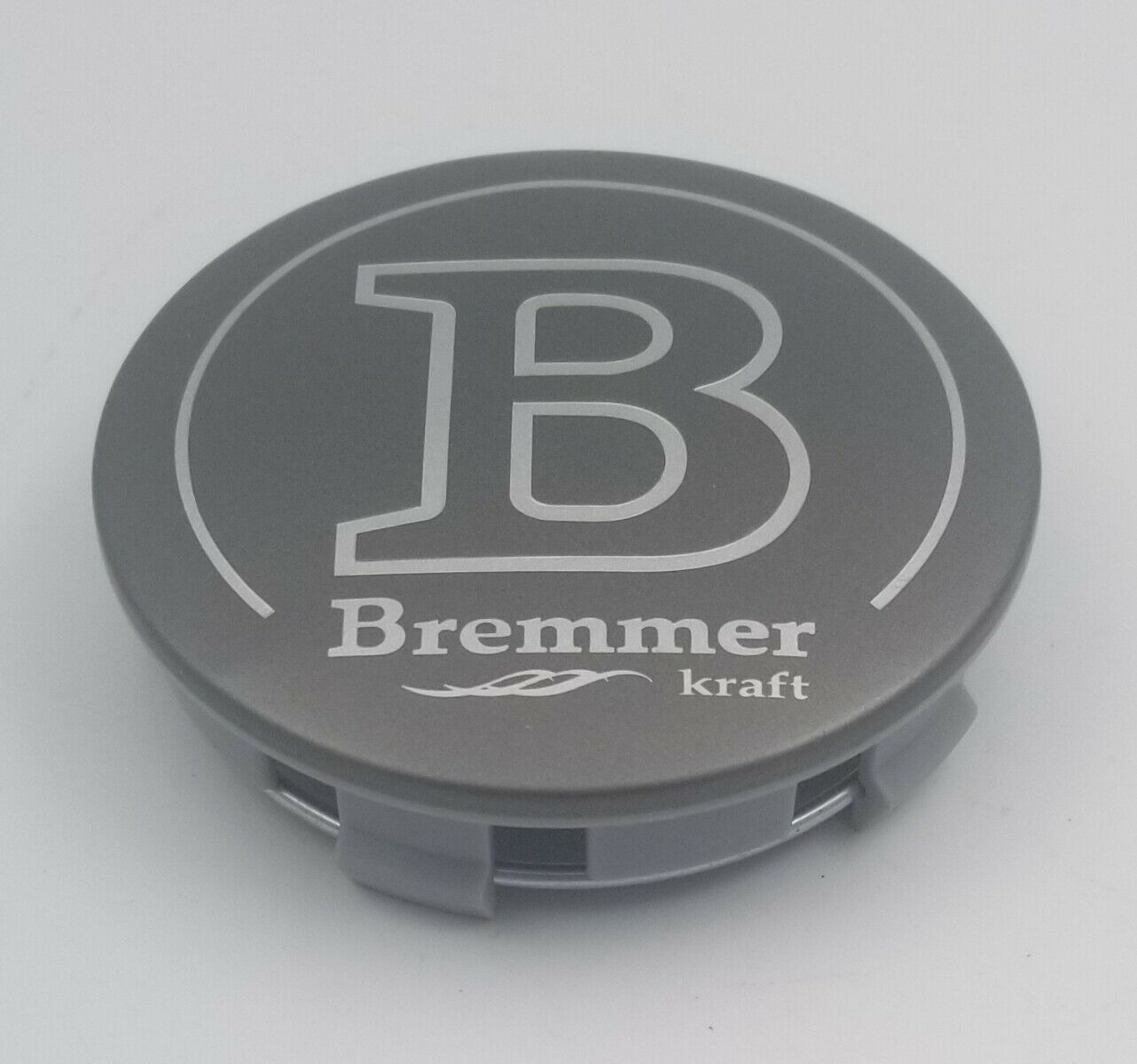 Bremmer Kraft BR12 Dark Gray Wheel Center Cap Snap In BR12-2CAP C104K75