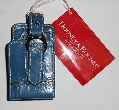 DOONEY & BOURKE skin Case MP3 Player cover Holder LEATHER BLUE $59