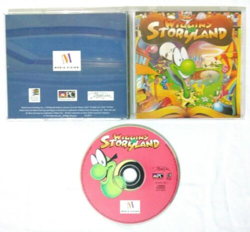 Wiggins In Storyland (PC, 1994) WINDOWS GAME COMPLETE W/ CASE & MANUAL