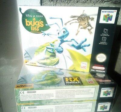 A bug's life Nintendo 64 pal n64 new very rare