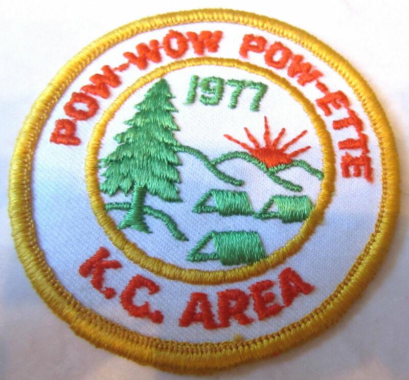 Pow Wow Pow-Ette Kc Area Royal Ranger Uniform Patch
