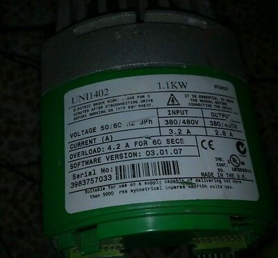 Control Techniques Unidrive Uni1402 Ac Drive 1.1kw Used And Good