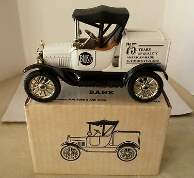 Ertl 1918 Runabout Diecast Bank locking with key New in Box