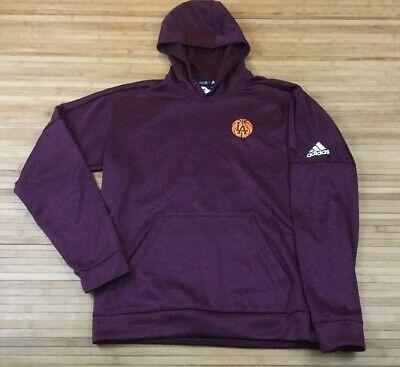 Men Adidas Climawarm Loyola Chicago Ramblers Hoodie Sweatshirt Medium Basketball