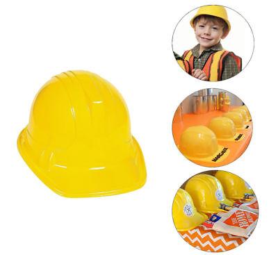 36pc Yellow Construction Hard Hat Plastic Cap Costume Birthday Party Favor