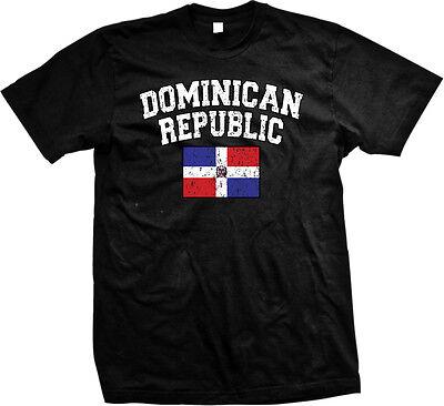 Dominican Republic Dr Flag Colors Nationality Pride  Mens T Shirt