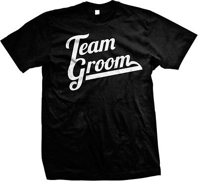 Team Groom- Fun Marriage - Great Bachelor Party Shirts! Mens T-shirt - Bachelor Party Shirts