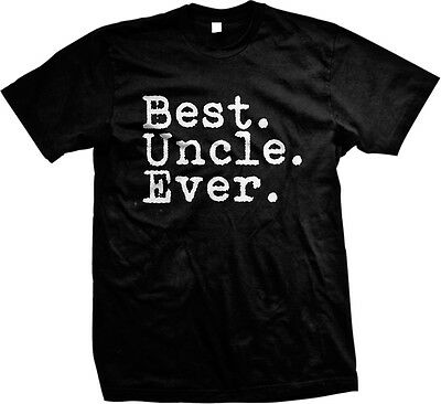 Best Uncle Ever Family Birthday Gift Holiday Christmas Present Idea Mens