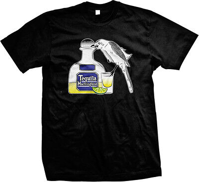 Tequila Mockingbird Parody Nerd Funny Book Humor Meme Joke Geek Mens T Shirt