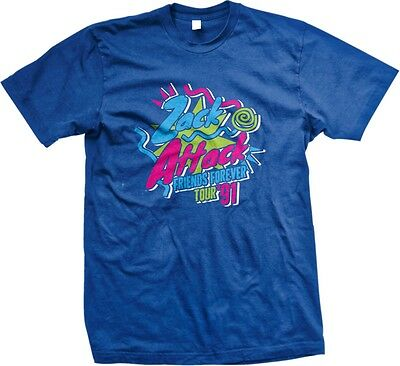 Zack Attack Friends Forever Tour 91   Saved By The Bell Tour Tv Mens T Shirt