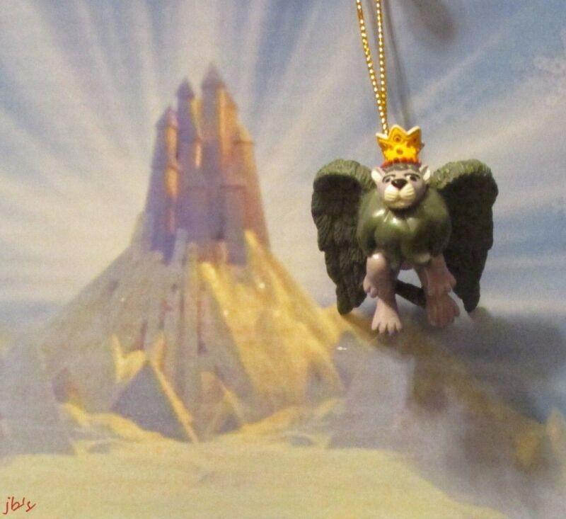 Rudolph Island of Misfit Toys King Moonracer Lion Miniature Ornament Moon Racer
