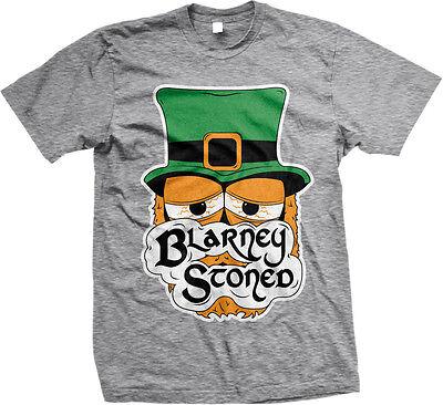 St Patricks Day Shirts Men (Blarney Stoned Irish Stoner Humor Funny Weed Pot St Patricks Day Mens)