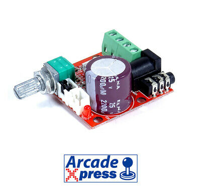 Amplificador de Sonido USB Estéreo 10W 8 Ohm Audio Arcade Board Amplifier...