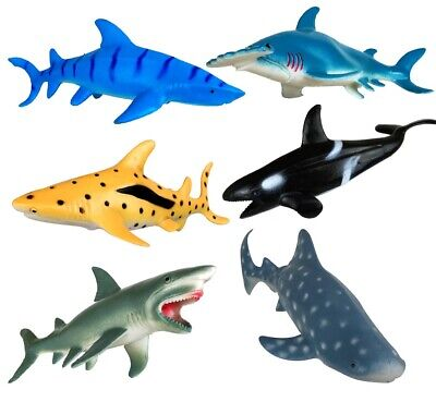 Shark Toys Figures Ocean Animals 7 inches](Sea Animals Toys)