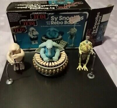 Vintage Star Wars Sy Snootles & the Rebo Band Complete With Original Box.